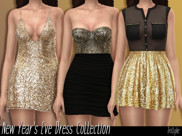 Trillyke - New Year's Eve Dress Collection