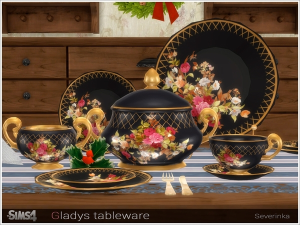 Gladys tableware by Severinka