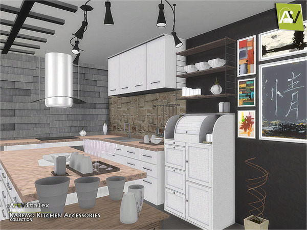 Karemo Kitchen Accessories by ArtVitalex
