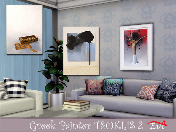 The Greek painter Tsoklis K 2 by evi