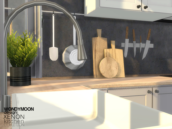 Xenon Kitchen by wondymoon