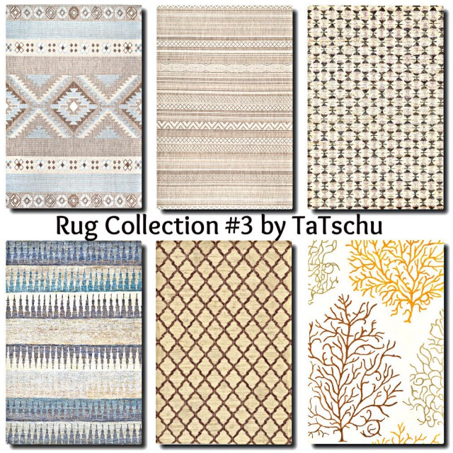 Contemporary Rug Collection 3 by TaTschu