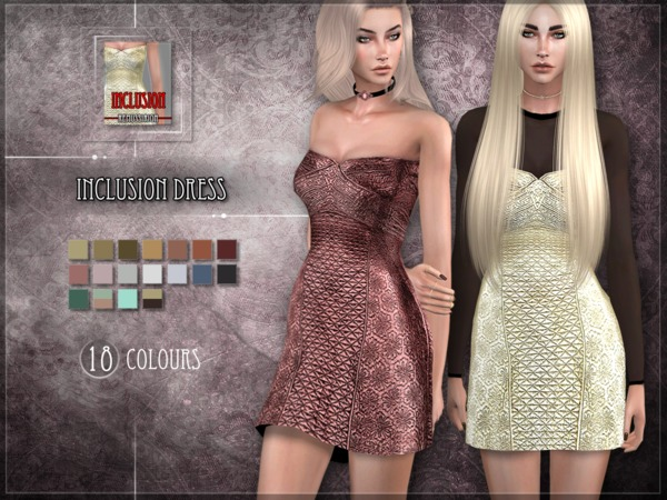 Inclusion Dress by RemusSirion