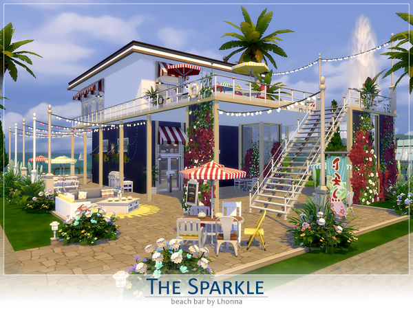 Beach Bar: The Sparkle by Lhonna