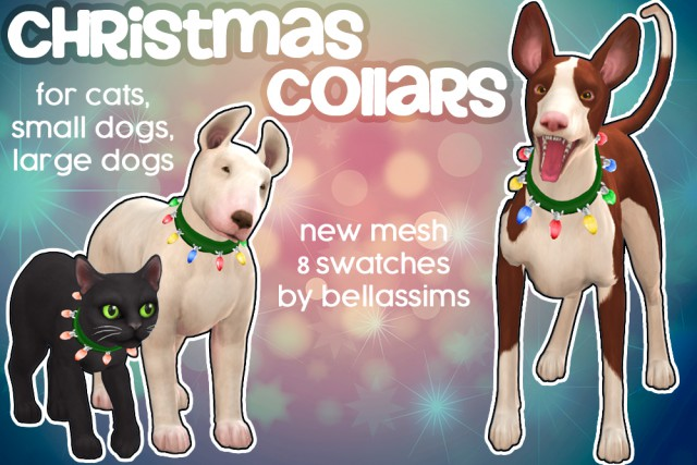 PETS Christmas Light Collar by Bellassims