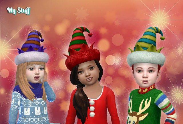 Holiday Elf Hat for Toddlers by Kiara24