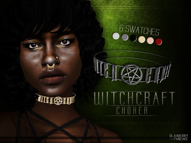 Witchcraft Choker by Blahberry Pancake