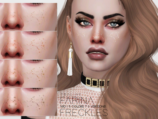Farina Freckles N10 by Pralinesims