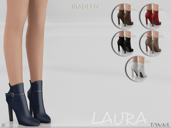 Madlen Laura Boots (Short) by MJ95