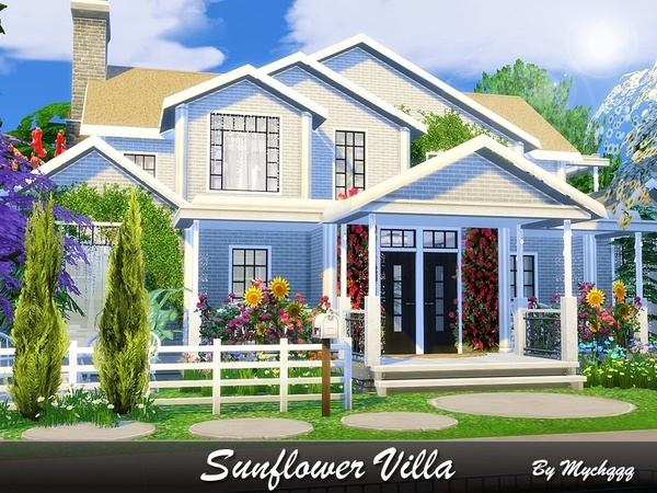 Sunflower Villa by MychQQQ