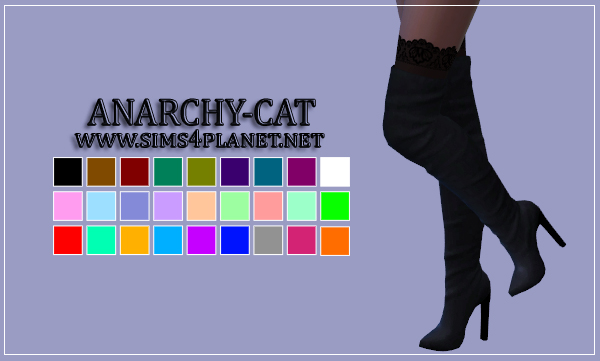 Madlen Rimini Boots by Anarchy-Cat