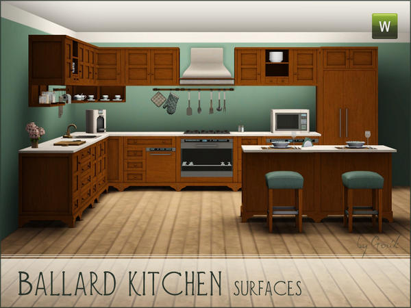 Ballard kitchen - surfaces by Gosik