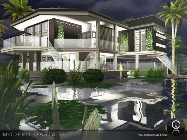Modern Oasis 22 by Pralinesims
