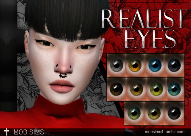 Realist Eyes by Mobsims