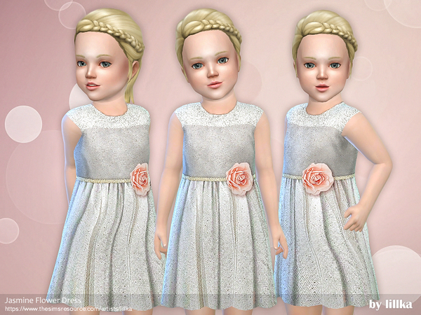 Jasmine Flower Dress by lillka