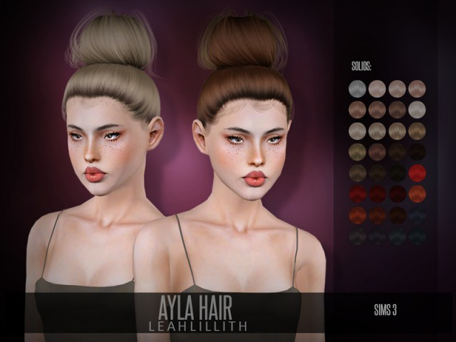 Ayla Hair by LeahLillith