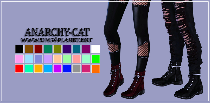 Ommo Combat Boots by Anarchy-Cat