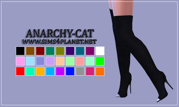 Madlen Erika Boots by Anarchy-Cat
