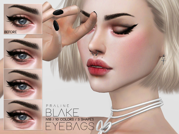 Blake Eyebags N18 by Pralinesims
