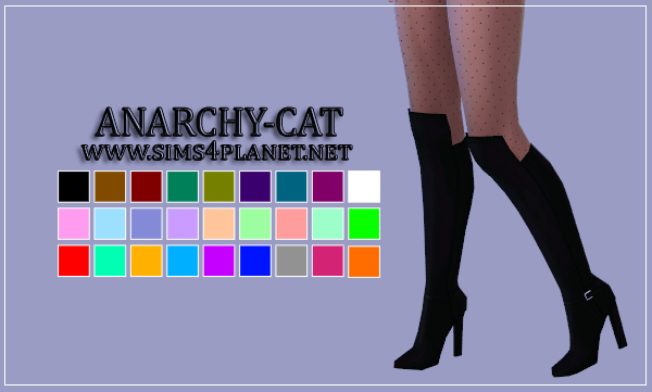 Madlen Laura Boots by Anarchy-Cat