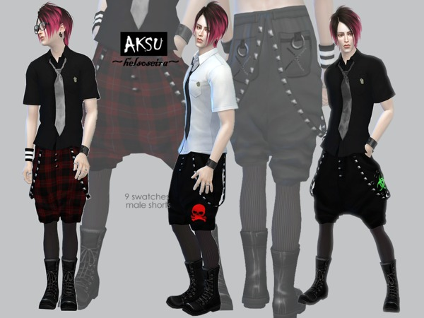 AKSU - Shorts (MALE) by Helsoseira