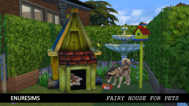 FAIRY HOUSE FOR PETS by EnureSims