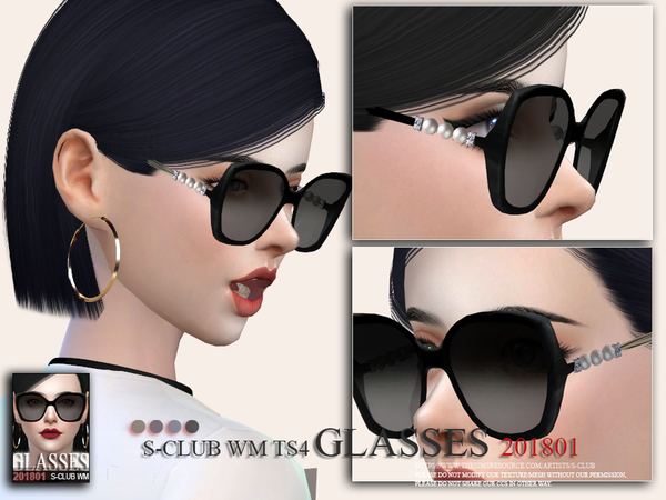 S-Club ts4 WM Glasses F 201801