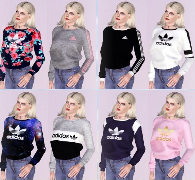 Adidas Sweaters Collection by Descargassims