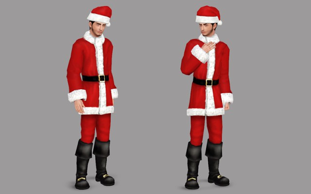 2t3 Santa Outfit - AM by DeeDee