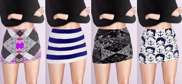 Short Skirts by descargassims
