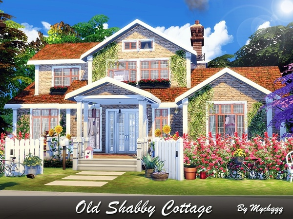 Old Shabby Cottage by MychQQQ