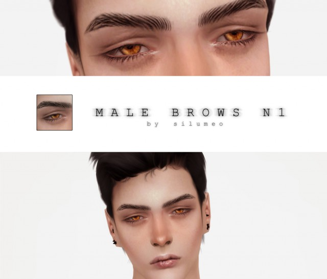 MALE BROWS N1 by Silumeo