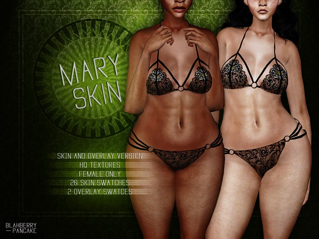 Mary Skin & Overlay by Blahberry Pancake