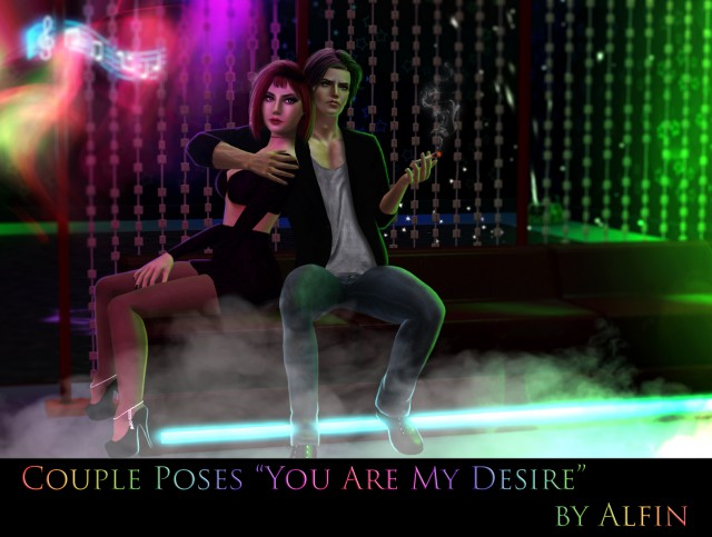 "Couple Poses ""You Are My Desire"" by Alfin"