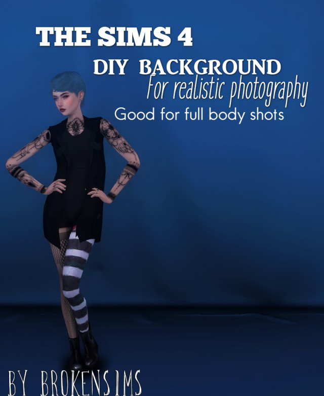 DIY Photography Backdrop  New Object by BrokenSims