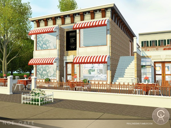 Noe Cafe by Pralinesims