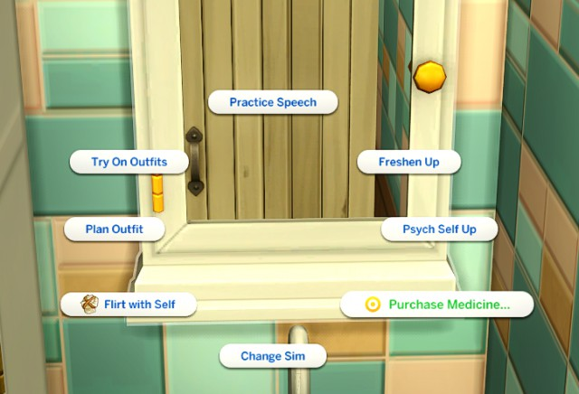 Functional Medicine Cabinet + Override by diabolicalsims