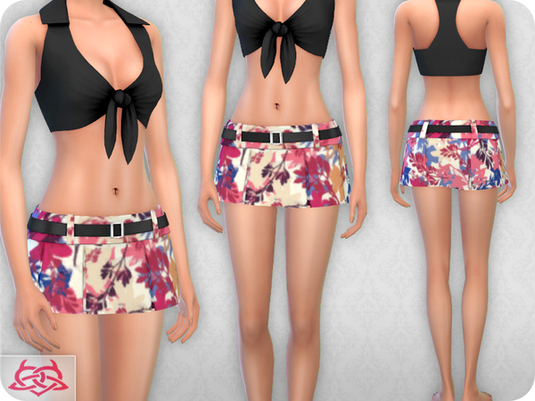 Mini Pleated 2 RECOLOR 3 (Needs mesh) by Colores Urbanos