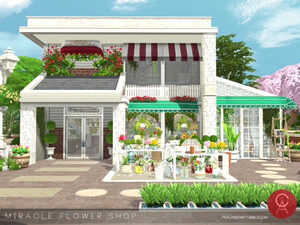 Miracle Flower Shop by Pralinesims