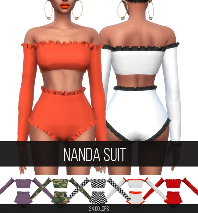 NANDA SUIT by Fifthscreations