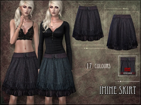 Imine Skirt by RemusSirion