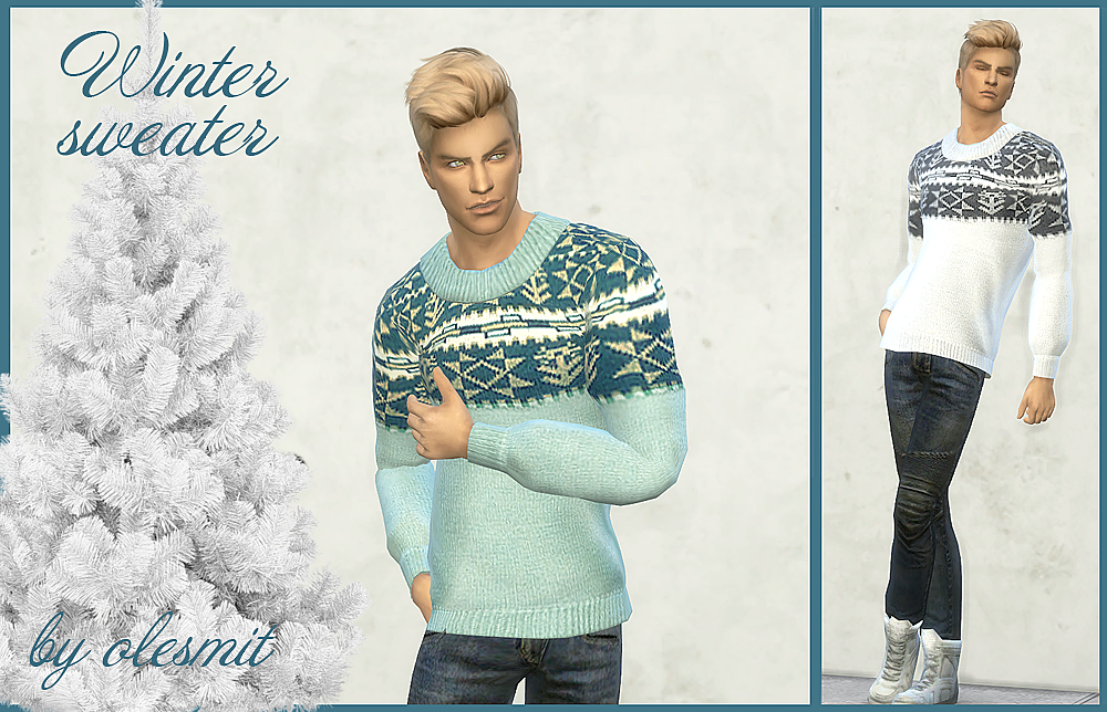 Winter sweater by OleSims