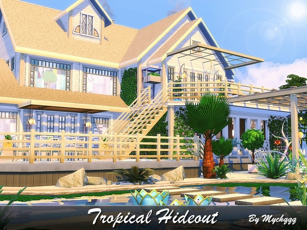 Tropical Hideout by MychQQQ