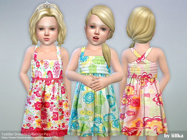Toddler Dresses Collection P43 by lillka