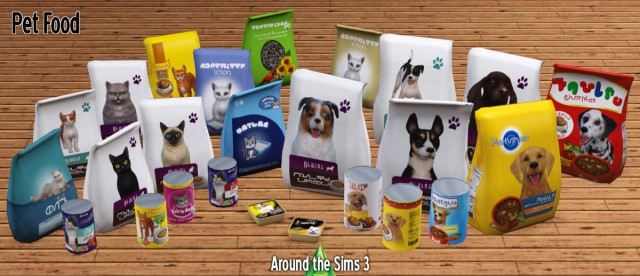 Pet Food & Litter - bags & cans by Sandy