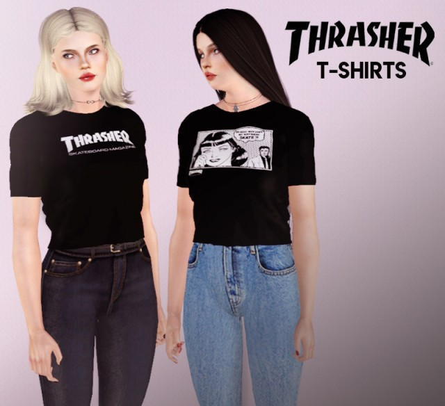 Thrasher T-Shirts Collection by Descargassims