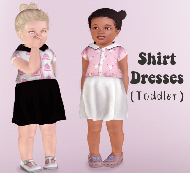 Shirt Dresses (Toddler) by Descargassims