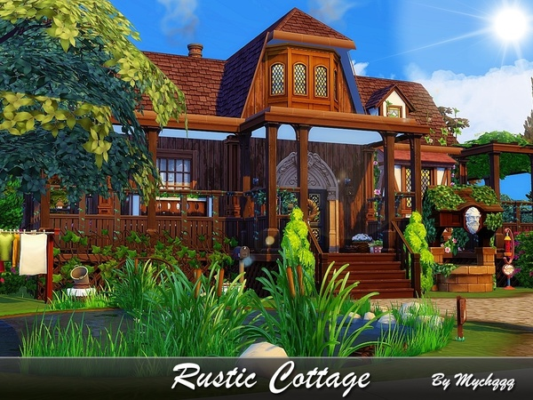 Rustic Cottage by MychQQQ
