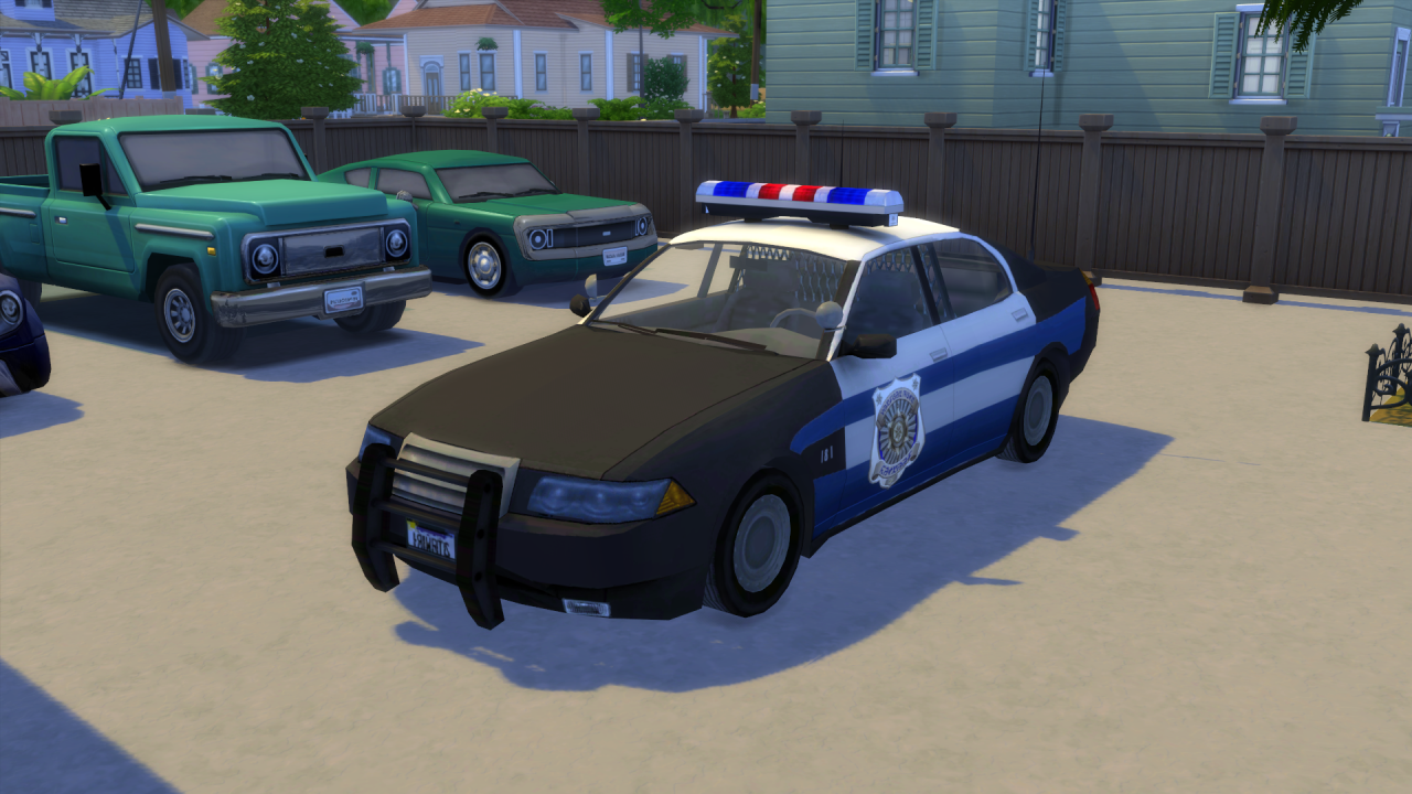 Police car by Ozyman