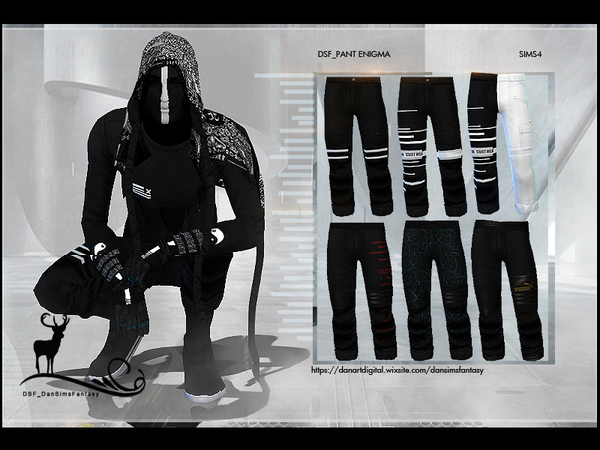 DSF PANT ENIGMA X - Outdoor Retreat needed by DanSimsFantasy